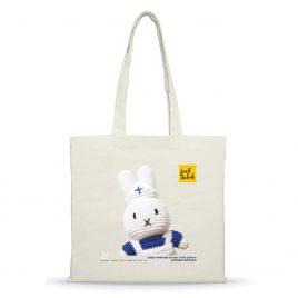 Katoenen tas met nijntje handmade en haar witte uniform