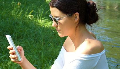 Gebruik smartphone tijdens zwangerschap oké