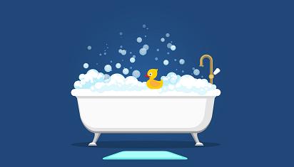Bevallen in bad populairder dan ooit