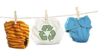 Recyclen van luiers gaat beginnen