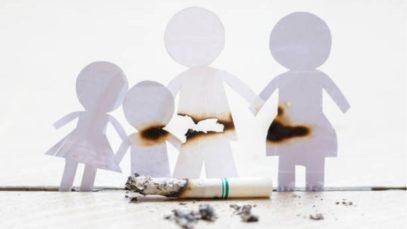 Passief rokende baby's
